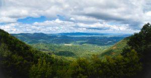 View of Patrick County from Lover's Leap near Stuart, VA
